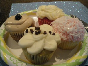 cupcakes from the Coffee shop in Gilbert