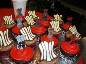 Corset Cupcakes